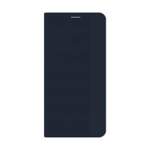 Puzdro Samsung Galaxy A12, Flipbook, tmavomodré
