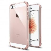 Púzdro SPIGEN Crystal Shelll iPhone SE/5s/5 crystal rose