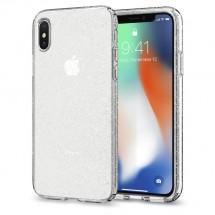 Púzdro SPIGEN Liquid Crystal Glitter iPhone X, crystal