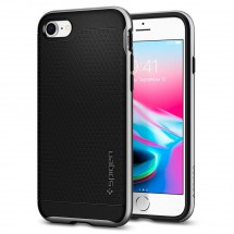 Púzdro SPIGEN Neo Hybrid 2 iPhone 7/8 Strieborné