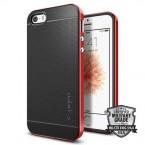 Púzdro SPIGEN Neo Hybrid iPhone SE/5s/5 červené
