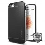 Púzdro SPIGEN Neo Hybrid iPhone SE/5s/5 silver