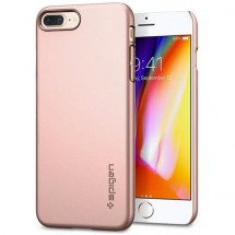 Púzdro SPIGEN Thin Fit iPhone 7/8 Plus ružové