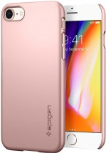 Púzdro SPIGEN Thin Fit iPhone 8 ružové
