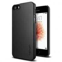 Púzdro SPIGEN Thin Fit iPhone SE/5s/5 čierne