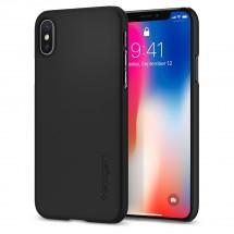 Púzdro SPIGEN Thin Fit iPhone X čierne
