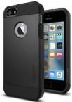 Púzdro SPIGEN Tough Armor iPhone SE/5/5s čierne