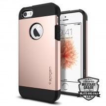 Púzdro SPIGEN Tough Armor iPhone SE/5/5s ružové