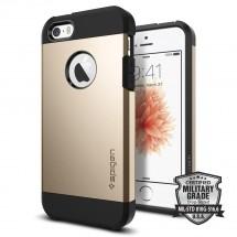 Púzdro SPIGEN Tough Armor iPhone SE/5/5s zlatá