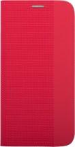 Puzdro Xiaomi Redmi Note 9T 5G, flipbook, červená