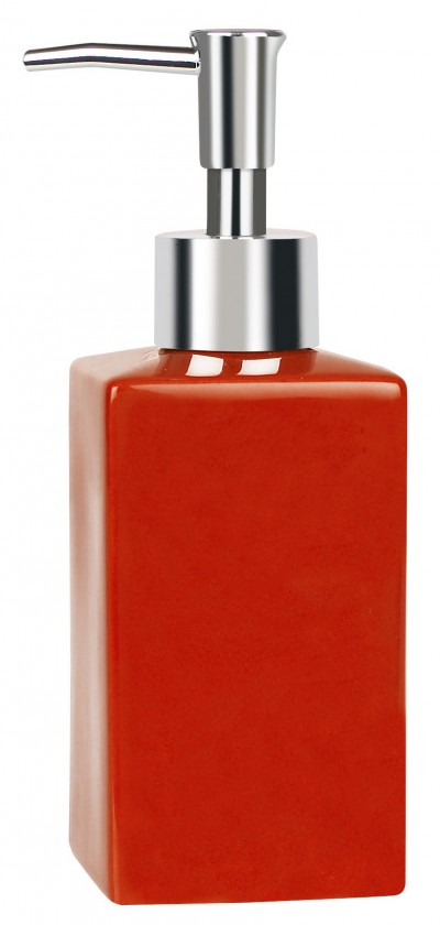 Quadro-Dávkovač mydla red