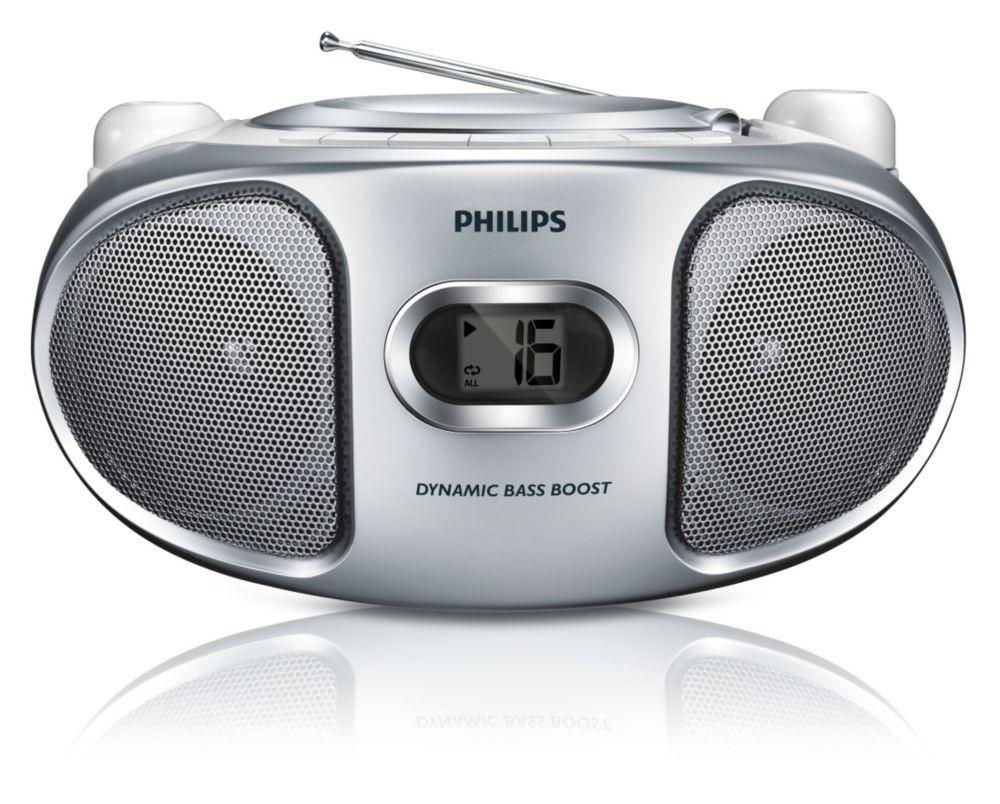 Rádia s CD Philips AZ105S/12 ROZBALENO