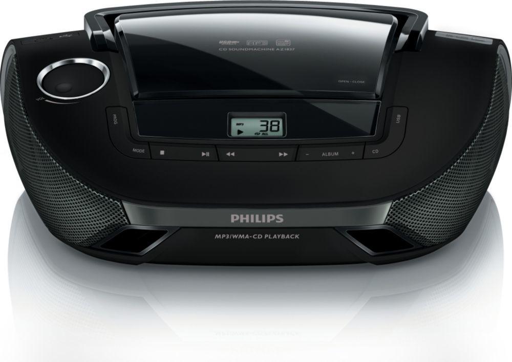 Rádia s CD Philips AZ1837/12 ROZBALENO