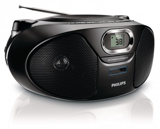 Rádia s CD Philips AZ385