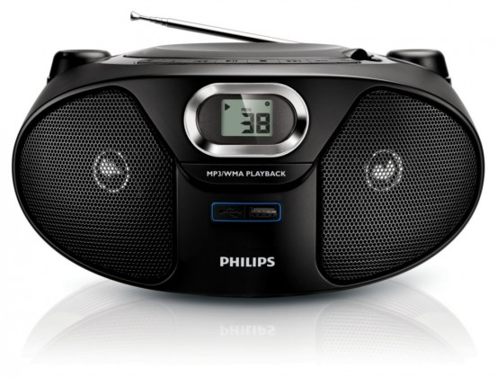 Rádia s CD Philips AZ385 ROZBALENO