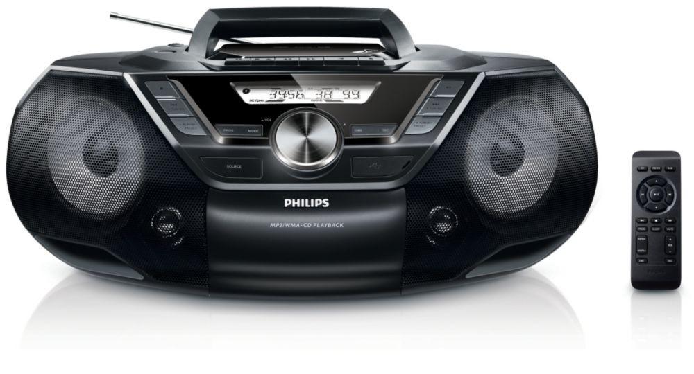 Rádia s CD Philips AZ787 POUŽITÝ, NEOPOTREBOVANÝ TOVAR
