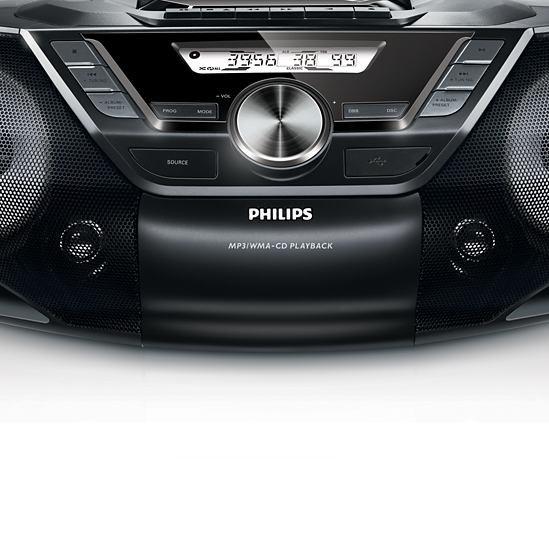 Rádia s CD  Philips AZ787