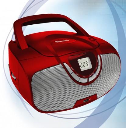 Rádia s CD Roadstar CDR-4550/RD Prenosný prehrávač