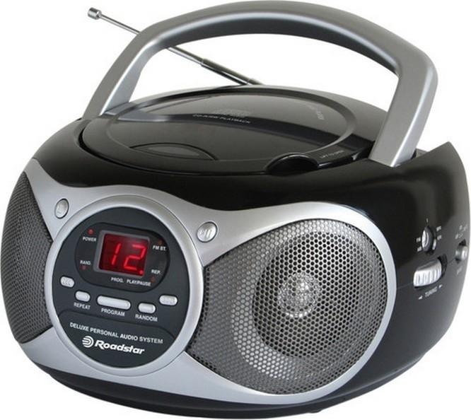 Rádia s CD  Roadstar CDR4130CDBK
