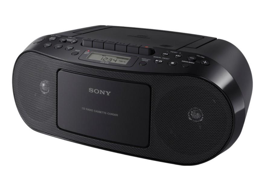 Rádia s CD Sony CFD-S50B (Black)