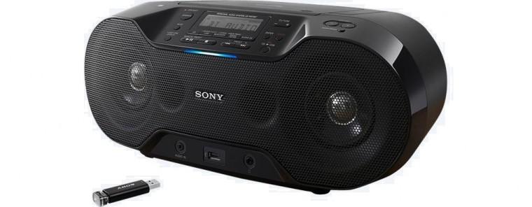 Rádia s CD Sony ZS-RS70BTB (ZSRS70BTB.CET)