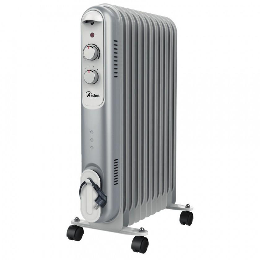Radiátor Olejový radiátor Ardes 4R11S, 11 rebier