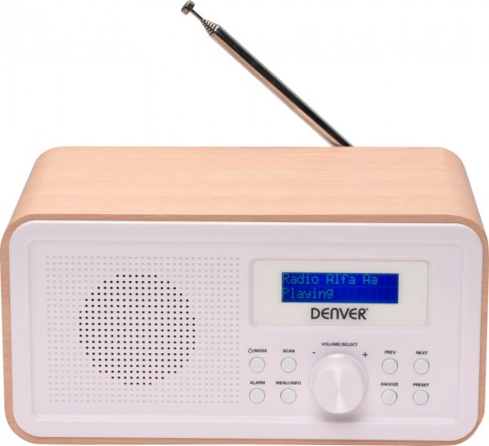 Rádio Denver DAB-30 Light Wood