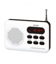 Rádio ICES IMPR-112, biele