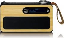 Rádio Lenco PDR-040 BAMBOO
