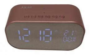 Rádiobudík Akai ABTS-S2, ružový