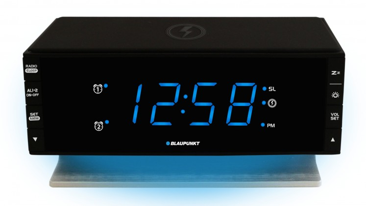 Rádiobudík BLAUPUNKT CR55CHARGE, FM PLL, Qi