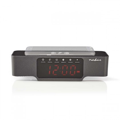 Rádiobudík Radiobudík Nedis CLAR007BK