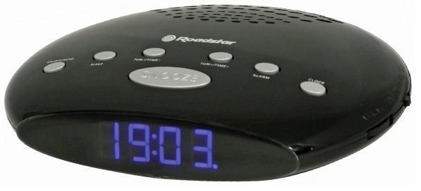 Rádiobudík Roadstar rádiobudík SLIM CLR-2855 Black POUŽITÝ NEOPOTREBENÝ TOVA