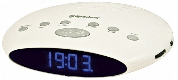 Rádiobudík Roadstar radiobudík SLIM CLR-2855 White