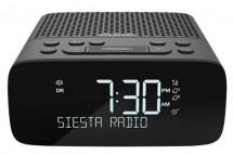 Rádiobudík s DAB + a FM, PURE Siesta S2, grafitová