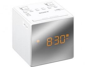Rádiobudík Sony ICF-C1TW, biely