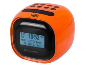 Rádiobudík Trevi RC 80D2, oranžový