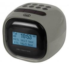 Rádiobudík Trevi RC 80D2, sivý