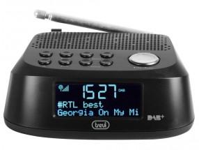 Rádiobudík Trevi RC 80D4/BK