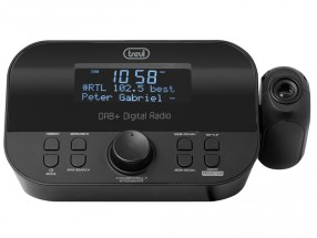 Rádiobudík Trevi RC 85D8, čierny