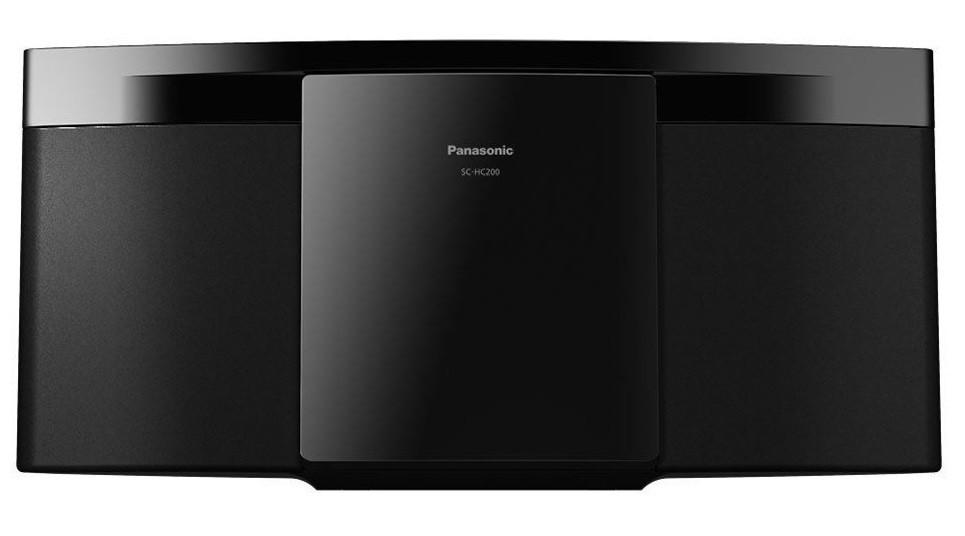 Rádiomagnetofón Mikrosystém Panasonic SC-HC200EG-K