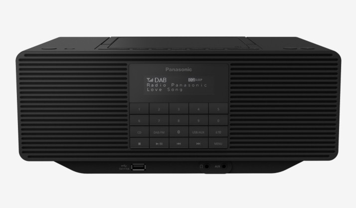 Rádiomagnetofón Rádio Panasonic RX-D470BTEG-K