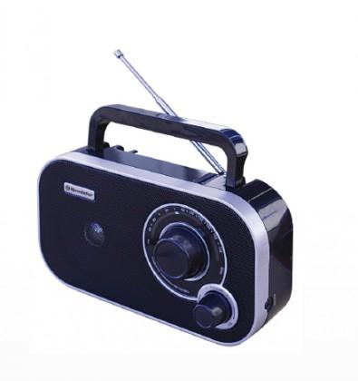 Rádiomagnetofón Rádio Roadstar TRA-2235/BK, čierne