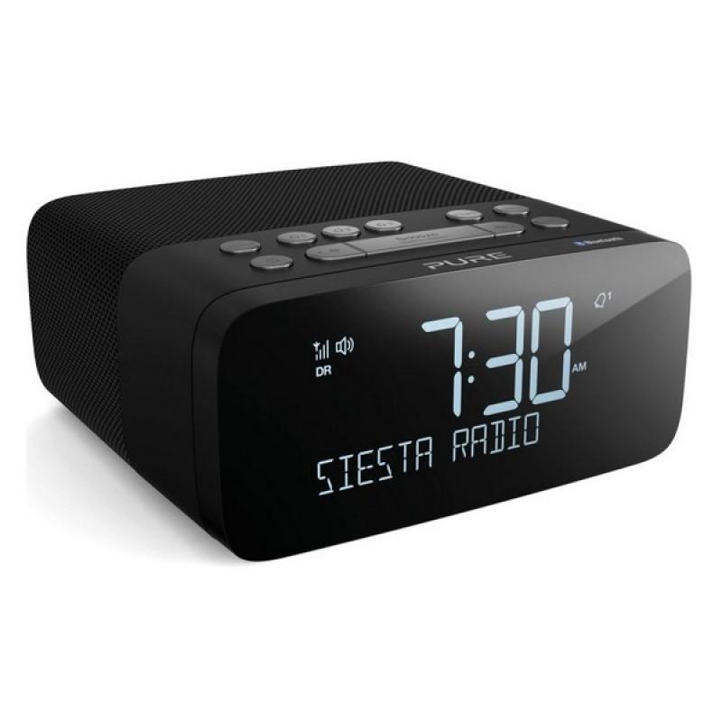 Rádiomagnetofón Rádiobudík PURE Siesta Rise S, grafit