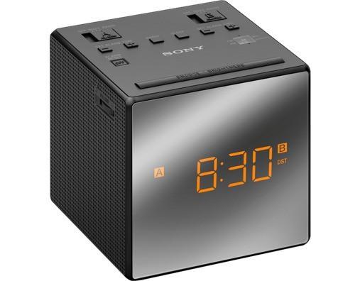 Rádiomagnetofón Rádiobudík Sony ICF-C1TB, čierny
