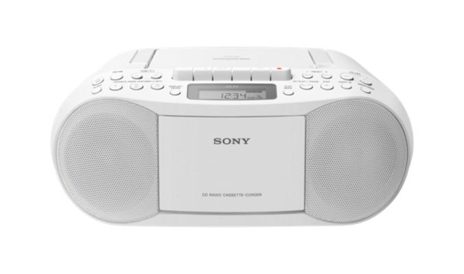 Rádiomagnetofón Rádiomagnetofón Sony CFD-S70W, biely