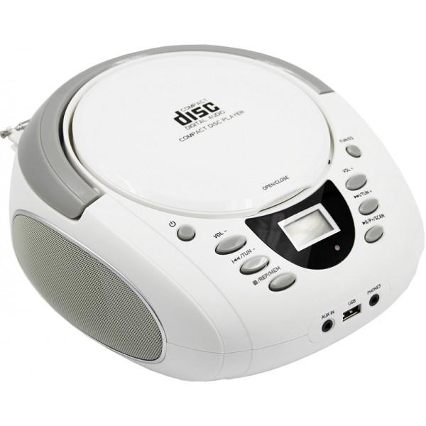 Rádiomagnetofón Rádioprijímač Luvianta CD-BP-L04W