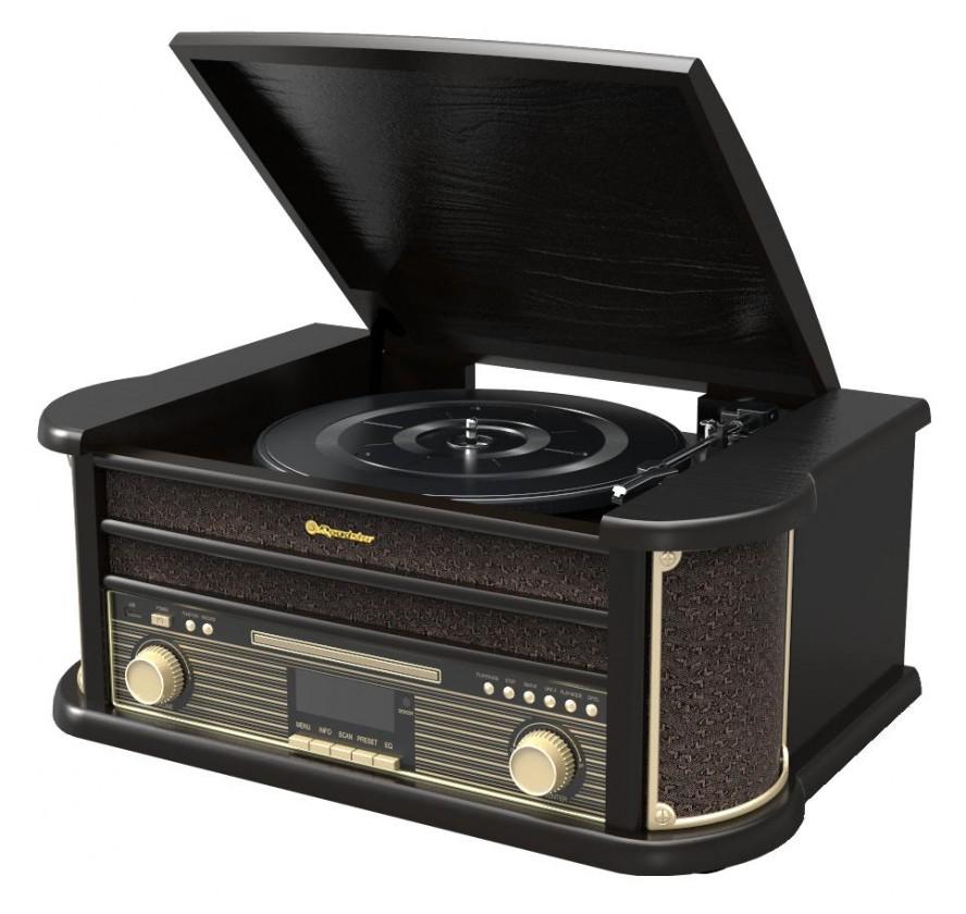 Rádiomagnetofón Retro gramofón Roadstar HIF-1898 D+BT