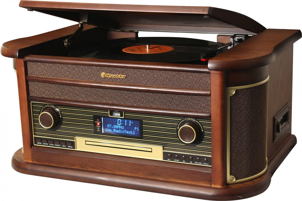Rádiomagnetofón Retro gramofón Roadstar HIF-1996D+BT
