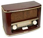 Rádiomagnetofón Retro rádio Roadstar HRA-1500/N